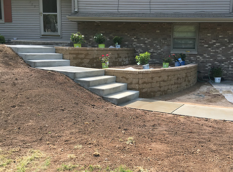 Concrete Contractor Green Bay WI Absolute Concrete Residential Flatwork
