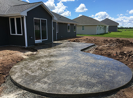 Concrete Contractor Green Bay WI Absolute Concrete Stamped