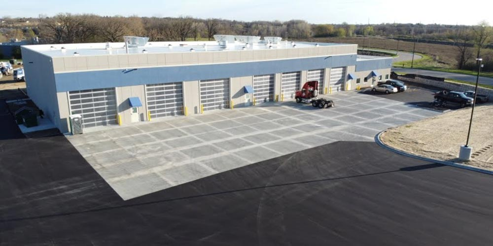 Concrete Contractor Green Bay WI Certco Commercial Flatwork Complete
