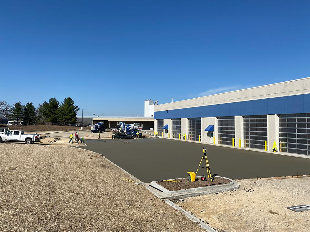 Concrete Contractor Green Bay WI Certco Commercial Flatwork