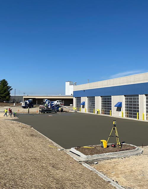 Concrete Contractor Green Bay WI Commercial Flatwork Certco