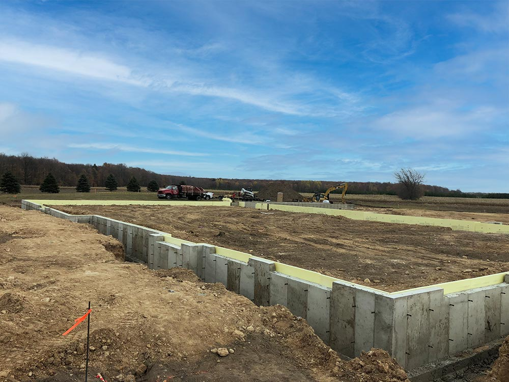 Concrete Contractor Green Bay WI Door 44 Winery Commercial Foundations