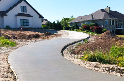 Concrete Contractor Green Bay WI Driveways for Residential