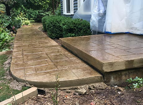 Concrete Contractor Green Bay WI Residential