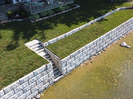 Concrete Contractor Green Bay WI Seawall