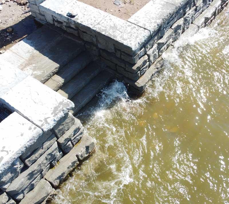 Concrete Contractor Green Bay WI Shoreline Seawall