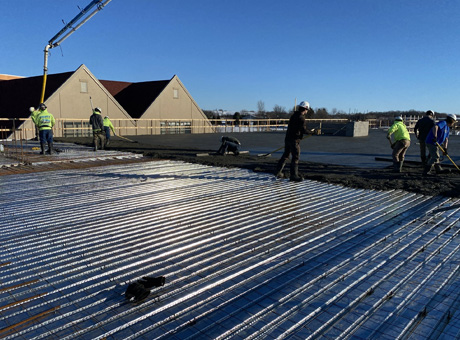 Concrete Contractor Green Bay WI Absolute Concrete Commercial Flatwork