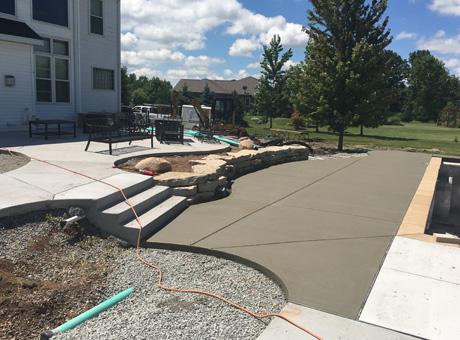 Concrete Contractor Green Bay WI Absolute Concrete Pool Decks