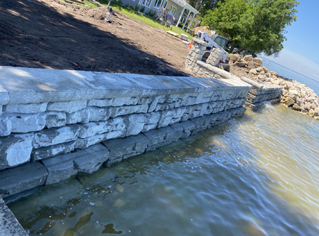 Concrete Contractor Green Bay WI Absolute Concrete Seawalls