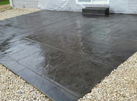 Concrete Contractor Green Bay WI Residential Decorative